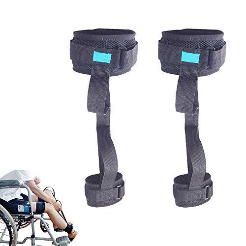 Oberschenkelheber Beingurt Verstellbare Hebefüße Gurte Schlaufen Mobilitätshilfen Zubehör, Beinheber Für Patienten Mit Lähmungen Der Unteren Gliedmaßen Ältere Menschen Behinderung Rollstuhl,2pcs