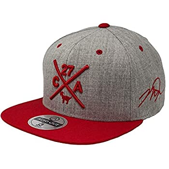 MLB Players Compass Hat - Snapback  Grey/Red Mike Trout