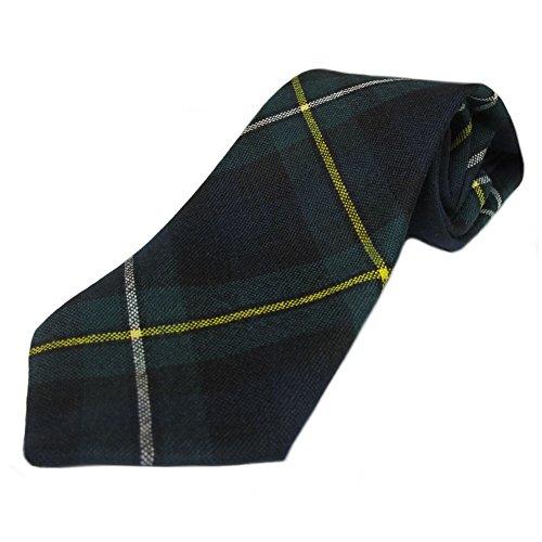 Ingles Buchan - Herren Tartan-Krawatten aus schottischer Wolle - 48 Tartanmuster - Campbell of Argyll