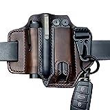 ambility multitool leather sheath pocket organizer storage belt waist bag for camping