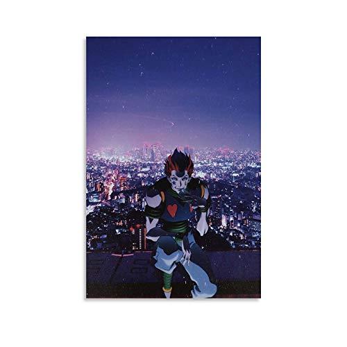 TOUKUI Póster de Anime in Real Life decorativo, lienzo para pared, sala de estar o dormitorio, 40 x 60 cm