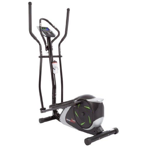 Ultrasport Crosstrainer/Crosstrainer Ellittico XT-Trainer 700M/800A con Sensori delle Pulsazioni con Bottiglia
