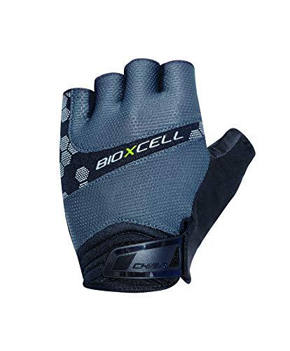 Chiba BioXCell Pro Fahrrad Handschuhe kurz grau 2021: Größe: L (9)