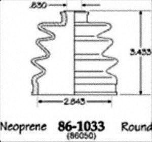 Empi NEW 86-1033D CV Sale price Kit Boot