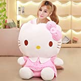 DOUFUZZ Muñeca de Felpa Juguetes Lindo Hello Kitty muñecas para niños Parejas 40cm Gatito