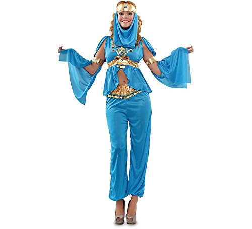 Disfraz de Bailarina Árabe azul para mujer