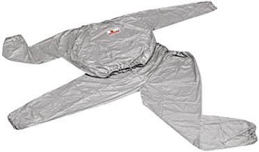 Body Sculpture SOLX-QJ-015G3-B-XXXL Sauna Suit, Gray