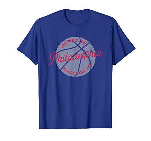 Philadelphia Pennsylvania USA | Vintage-look basketball T-Shirt