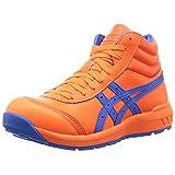 [アシックス] ワーキング 安全靴/作業靴 ウィンジョブ CP701 JSAA A種先芯 耐滑ソール 天然皮革 fuzeGEL搭載 ショッキングオレンジ/エレクトリックブルー 26.5
