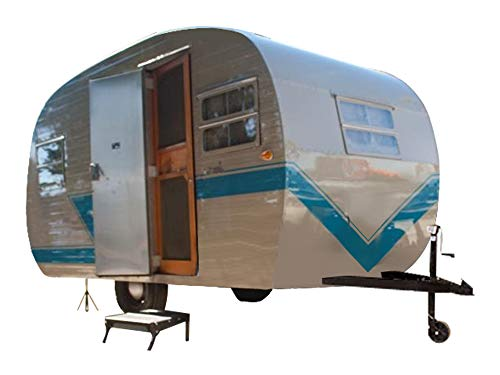 12' Teardrop Travel Trailer DIY Plans Tear Drop Pop-Up Camper RV Build Your Own