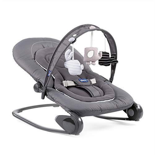 Chicco Hoopla Baby Bouncer - Dark Grey