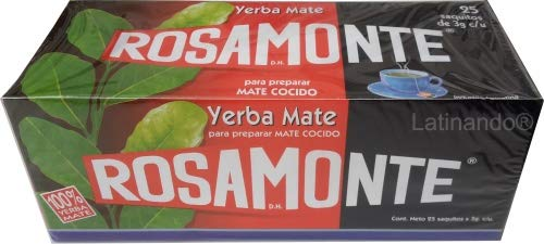 ROSAMONTE Saquitos - Yerba Mate im Teebeutel 25 Stk.