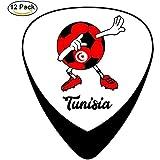 La guitare celluloïd du football de la Tunisie choisit pour la guitare acoustique électrique
