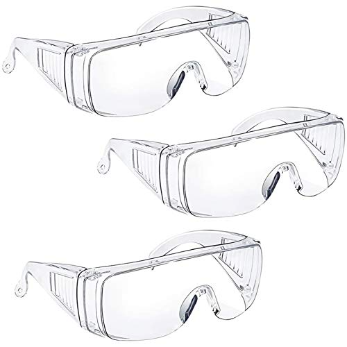 Anti Fog Safety Glasses & Goggles Over Eyeglasses...