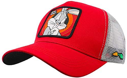 Collabs Gorra Looney Toons Bugs Bunny Trucker Roja (Talla única para Todos sexos) …
