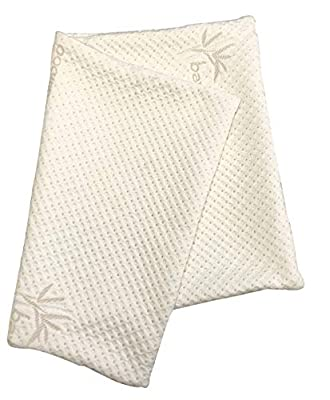 Snuggle-Pedic Zipper Removable Pillow Cover Kool-Flow Luxurious Bamboo Material - All USA Made from Relief-Mart, Inc.