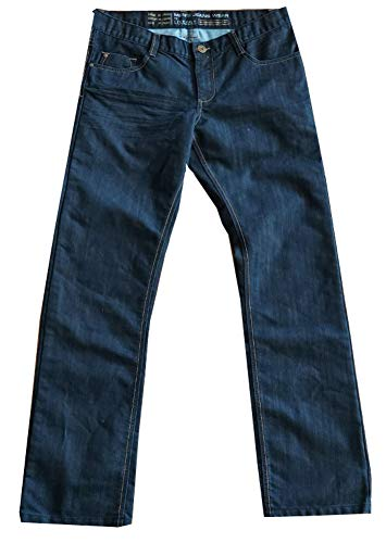 Livergy Herren Jeans Jeanshose angenehmer hohen Baumwollanteil Normale Leibhöhe (52)