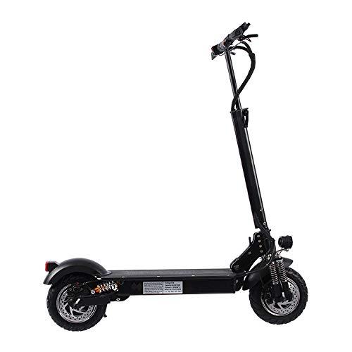 CZPF Opvouwbare elektrische scooter, volwassenen, 10 inch, aluminiumlegering, elektrische auto tweewieler, lithium-batterij scooter