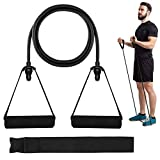 HaroFit Resistance Bands for Men Women - Resistance Tubes with Handles Exercise Bands for Working Out, Physical Therapy, Resistance Training, Home Workouts, Door Anchor and Workout Guide Included