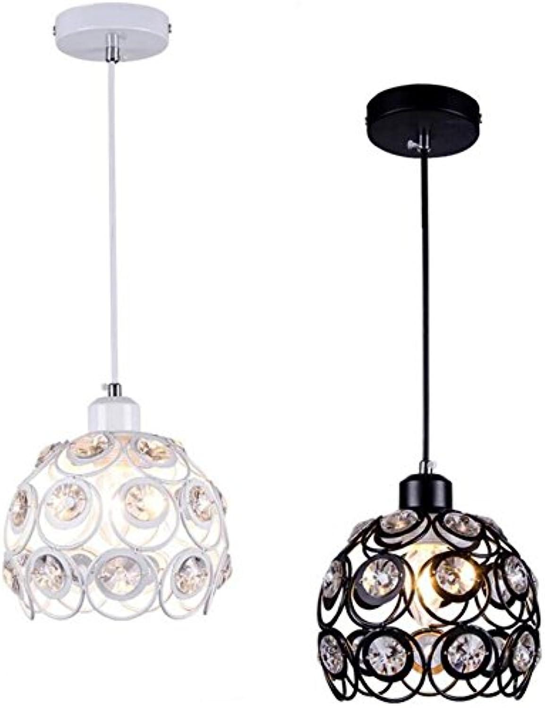 Mode k9 kristall pendelleuchten wei schwarz led lampen wohnzimmer lampe led pendelleuchten led e27 lustre pendelleuchte z50