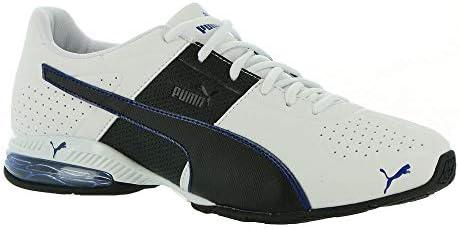 PUMA Men s Cell Surin 2 Running Shoe White Black Elektro Blue 7 5 product image