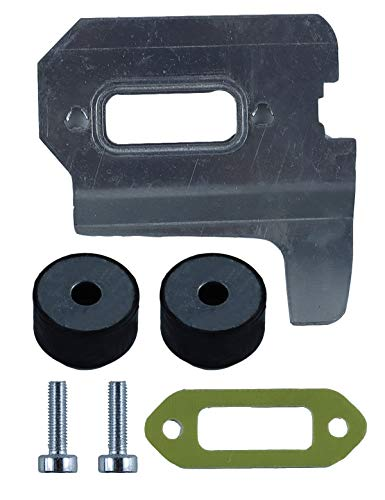 Replacement Tune-Up Kit for Stihl Concrete Cut Off Saw TS410 TS420 with 4238 149 0600 Muffler Gasket and 4238 141 3200 Cooling Plate and 4205 790 9300 Rubber Buffer Feet