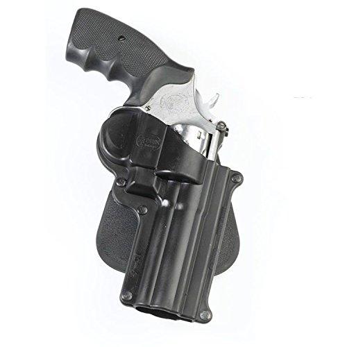 Fobus LK-4 Smith&Wesson L&K Frame - Funda para cinturón (4 pulgadas, 65 mm), color marrón