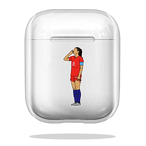 Case Cover Alex Morgan Sipping Tea Compatible with Airpod Pro Airpods Absorption Drop Shock