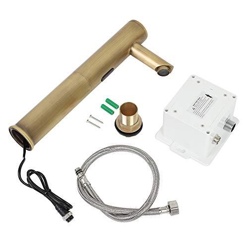 Nuevo Sensor Automático Lavabo De Baño Manos Libres Grifo De Agua Mezclador Grifos De Lavabo Vintage