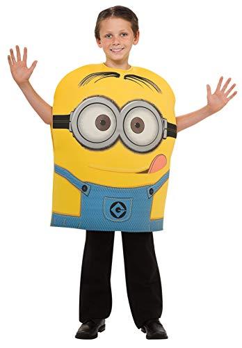 Rubie's-déguisement officiel - Rubie's- Costume Minion Dave - Taille M 5-6 ans- CS886444/M