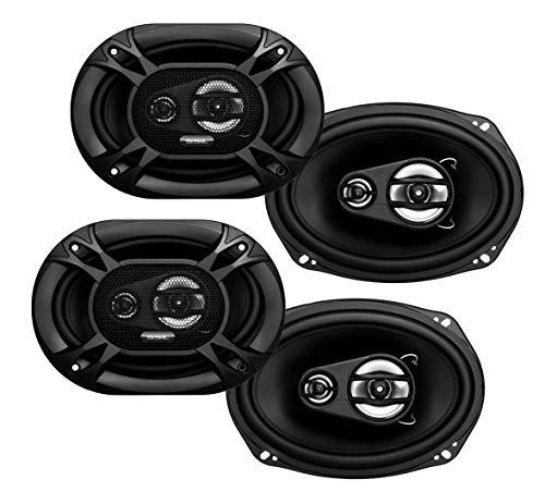 """4) Soundstorm SSL EX369 6x9"""" 3-Way 300 Watt Car Audio Stereo Coaxial Speakers"""