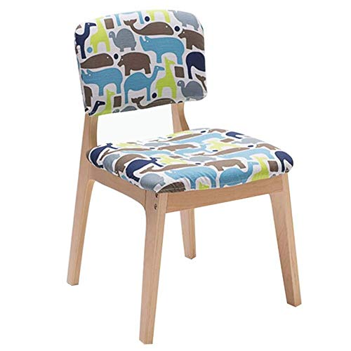 FENG Ergonomische bureaustoel zijstoel gastenstoel stof keuken eetstoel Ergonomische bureau bureaustoel receptie stoel lounge koffiestoel B