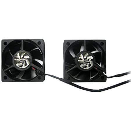 Coolerguys Dual 50x50x20mm Usb Fan Set Computers Accessories
