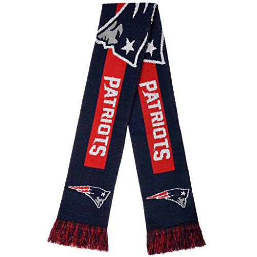 NFL New England Patriots - 2016 Big Logo Scarf, One Size, Team Colors