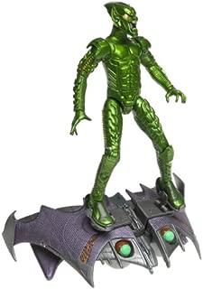 SpiderMan Movie ToyBiz Action Figure Green Goblin Pumpkin Bomb Goblin Glider