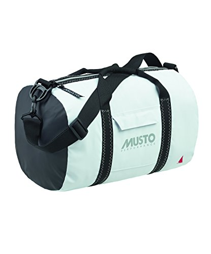 Musto Genoa Small Carryall White - Splash resistant fabric to keep contents dry