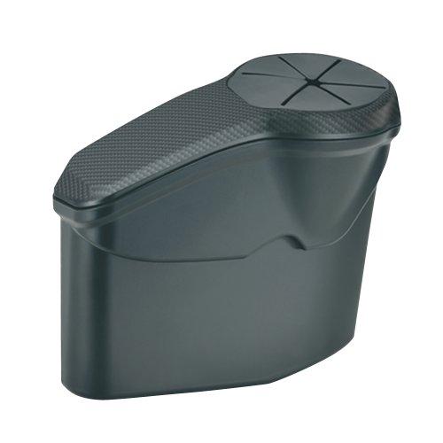 カーメイト(CARMATE) ゴミ箱 フィット用 助手席用 ブラック NZ544