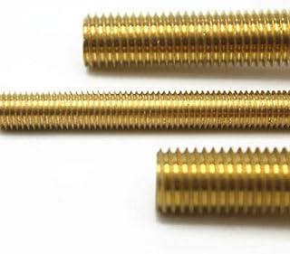 Solid Brass All Thread Threaded Rod Bar Studs 10-24 x 24 by GuruShop