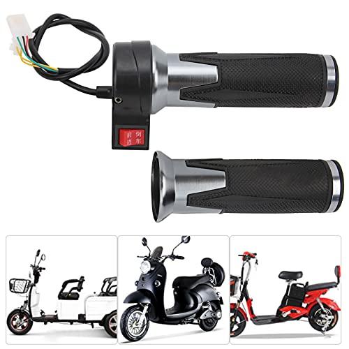 Eulbevoli Manillares del Acelerador, diseño Antideslizante de la empuñadura del Acelerador para Bicicletas eléctricas, Scooters, triciclos para reemplazo de Bicicletas eléctricas
