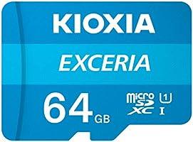 Kioxia 64 GB Exceria U1 Class 10 MicroSD Hafıza Kartı