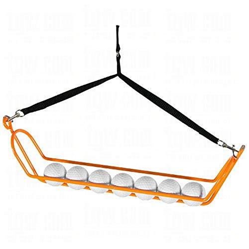 Search 'N Rescue Stretcher Golf Ball Retriever, Orange/Black, 35-Feet