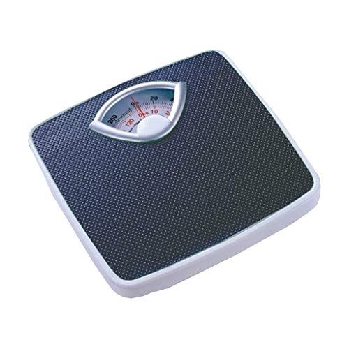 HEMFV Báscula electrónica de Alta precisión Peso Corporal Digital báscula de baño, básculas de baño de Cuerpo Principal Baño pérdida de Peso Adulto Escala de Grasa Corporal Temperatura Inteligente de