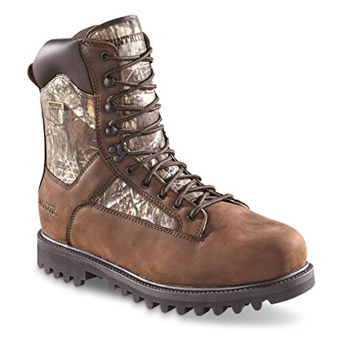 Huntrite Men's Insulated Waterproof Hunting Boots, 1,200-gram, Realtree Edge, 13D (Medium)