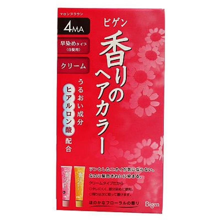 常習者ポットシニスビゲン香りヘアカラークリーム4 40G+40G [ヘルスケア&ケア用品]