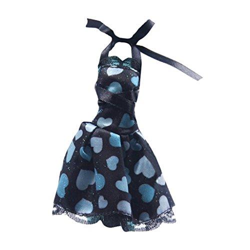 Sharplace Modische Puppen Kleidung Outfit Set für Monster High Puppe Dress up Zubehör - Kleidung 7