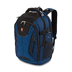 SwissGear 5358 USB ScanSmart Laptop Backpack. Abrasion-Resistant & Travel-Friendly Laptop Backpack Exclusive Bundle with Lock