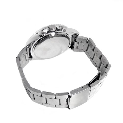 『Disney ディズニー ミッキー 生誕80周年記念 回転 ベゼル 腕時計 ピンク スワロフスキー 世界限定数生産 銀 [時計] [並行輸入品]』の1枚目の画像