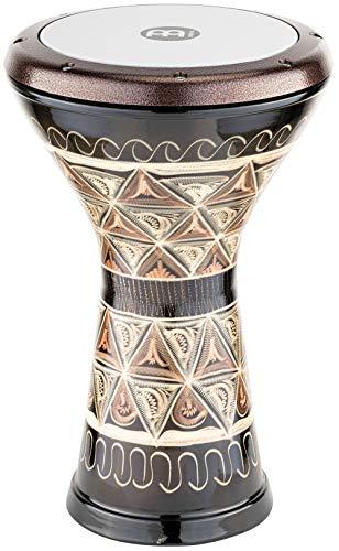 Meinl Percussion HE-3012 Kupfer Doumbek mit Kunststofffell, 21,59 cm (8,5 Zoll) Durchmesser, kupfer