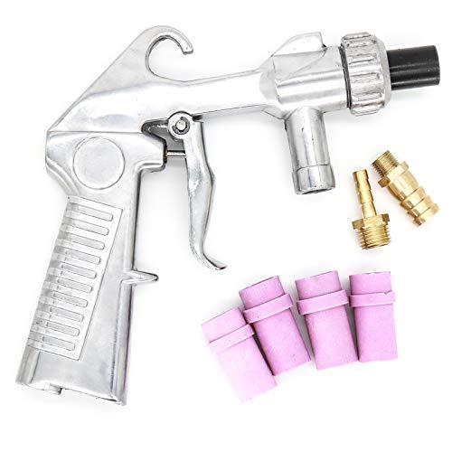 Pistola de chorro de arena con 4 puntas de cerámica