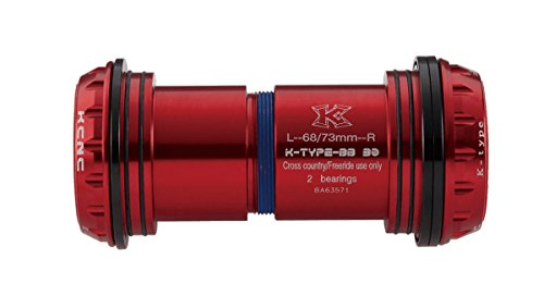 KCNC BB30 MTB Innenlager Adapter rot 2014 Innenlager Hohlachse